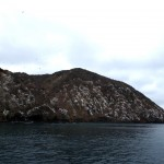 The white cliffs of the Isla de Plata