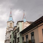 One of the 42 churches in Cuenca