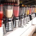 fresh batidos -- jugo con leche