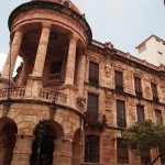 the old bank, which stopped operating when ecuador switched to the US dollar