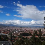 view of Cuenca from the Mirador de Turi outlook