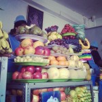 Amazing juice stands in the mercado -- $1 for any fresh fruit juice you can possibly concoct!