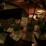 Our 8 mojitos for $10.30
