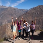 Our group, after conquering Colca!