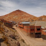 The Cerro Rico mining mountain. Ironically, it's gorgeous on the outside.