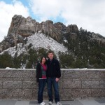 Alex & I on our road trip stop at Mt. Rushmore!