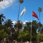 Argentine & Salta city flags