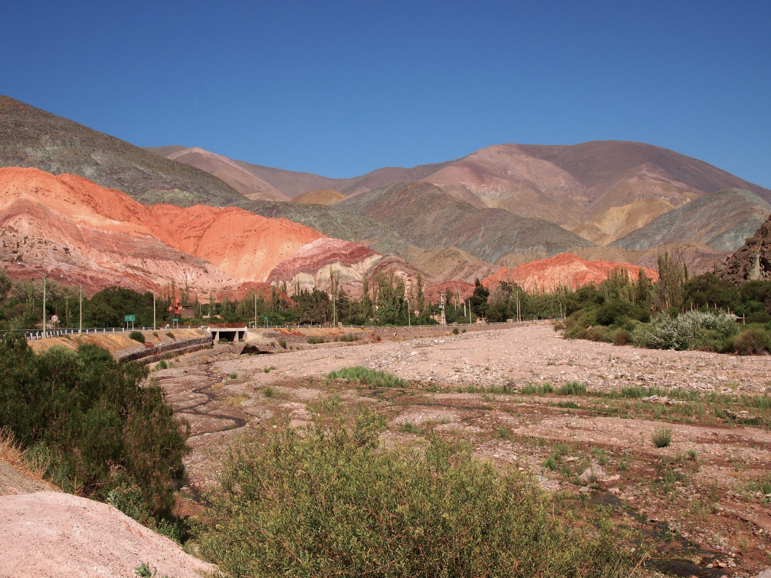 Photos from my day trip to some smaller villages outside Salta -- La Siete Colores montanias