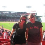 At Fenway Park